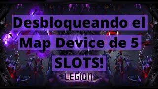 [3.9] Desbloqueando el Map Device de 5 Slots! (Y drop GORDO)