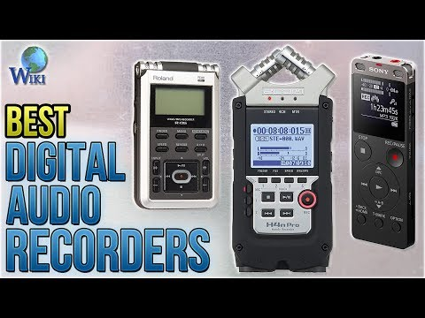 10 Best Digital Audio Recorders 2018