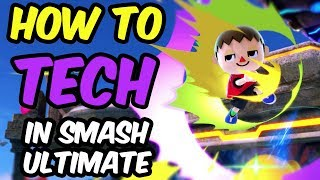 How To Tech In Smash Ultimate - Everything Different from Smash 4