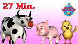 Old MacDonald Had a Farm Song with Lyrics & more Best Nursery Rhymes Songs for Children | Mum Mum TV