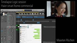 TIMELAPSE LOGIC SESSION – Haier Smart Home Commercial – Maarten Rischen