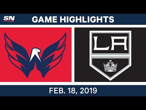 NHL Highlights | Capitals vs. Kings - Feb 18, 2019