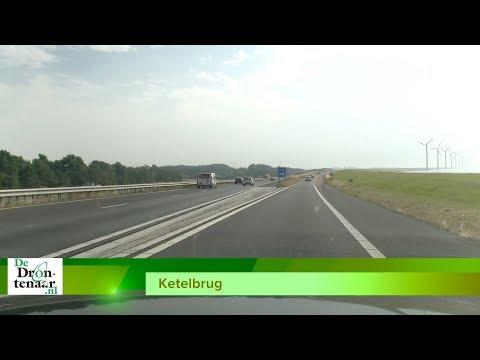 Op- en afrit A6 bij Swifterbant en Ketelbrug gaat een nacht dicht