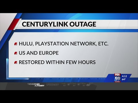 Outage leaves some streaming services unavailable