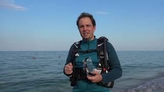 Masca pentru inot si snorkel-scuba diving cu dioptrii