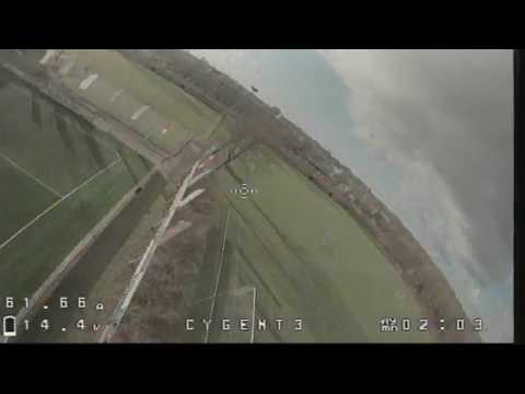 Maiden flight with the GepRC Cygnet (DVR recording)