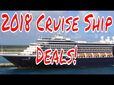 2018 Cruise Ship Deals! Australia Caribbean Repositioning to Rome Holland America Costa Cruises
