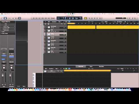 Logic Pro X – Drummer Conversion Tutorial