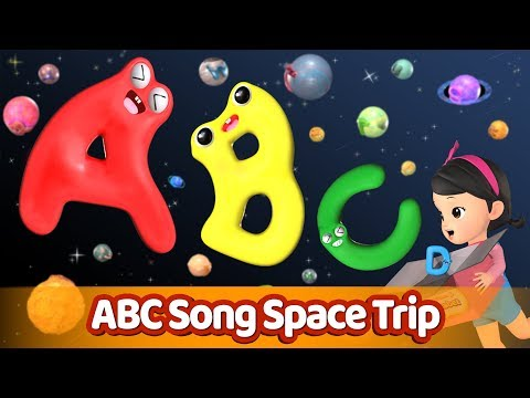Space Trip l ABC Alphabet Song