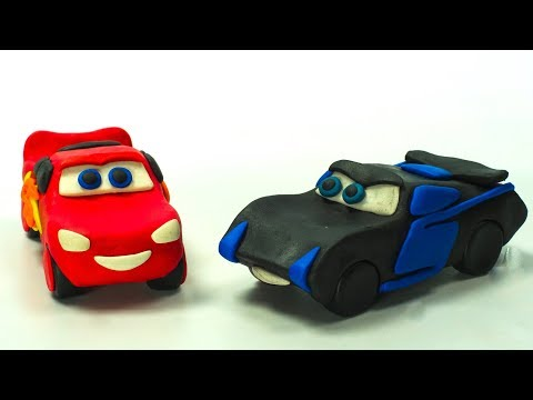 LIGHTNING Strikes ? Lightning McQueen Jackson Storm In the Make Play Doh Cartoon STOPMOTION CARS? - Kholo.pk & LIGHTNING Strikes ? Lightning McQueen Jackson Storm In the Make ...