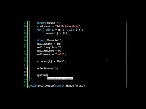 Structs in C: Computer Programming 9: 24HourAnswers Tutorials