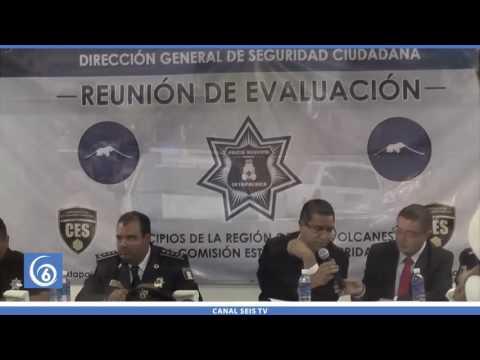 Realizan evaluación a mandos policiacos del CES