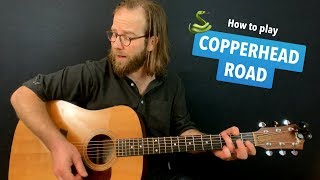 🎸 Copperhead Road • Steve Earle Guitar Lesson W Intro Tab & Chords