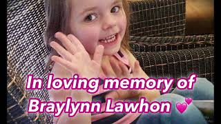 Tribute to Braylynn Lawhon (DIPG angel) 💕