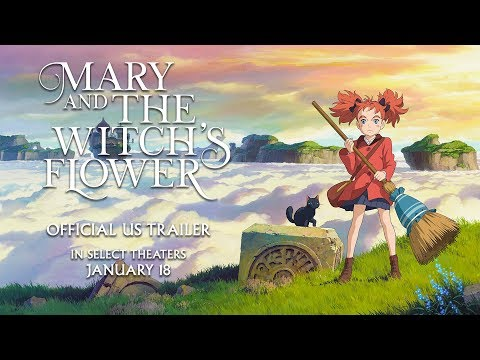Mary and the Witch's Flower US Trailer