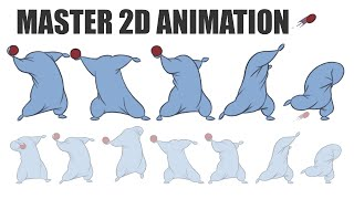 How To Animate - 2D Animation Tutorials with Step by Step Training