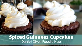 Spiced Guinness Cupcakes