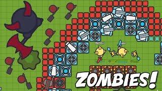 Zombs.io BEST BASE  vs MASSIVE BOSS & New Update (Zombs.io New Update Gameplay w/Blitz)