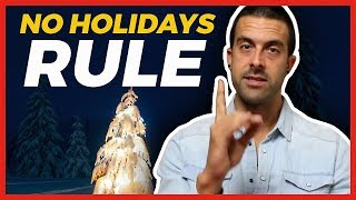 Here's Why I DON'T Celebrate Holidays (Thanksgiving, Christmas, etc..)