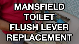 Mansfield Toilet Flush Lever Replacement