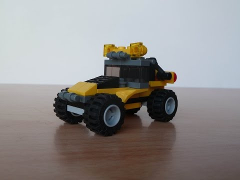 Vidéo LEGO Creator 5761 : La mini pelleteuse