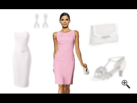 Festliche Kleider für Brautmutter in knielang: Wie Lena ihr Outfit für Hochzeiten gefunden hat