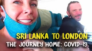 Flying during Covid-19...  What is it like?  Sri Lankan airlines to the UK - Part 2