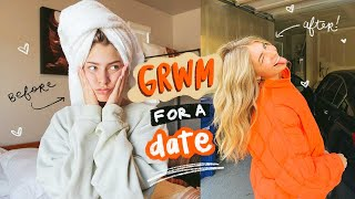 get ready with me for a DATE with a cute boy (!!)