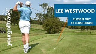 Lee Westwood At Close House - Which Shot To Play If 1 Up Or 1 Down