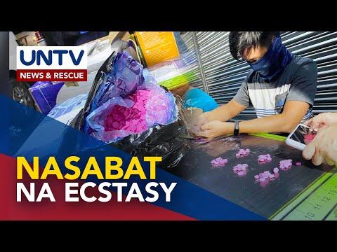 [UNTV]  P17-M halaga ng ecstasy, nasabat sa Pampanga; 5 suspek arestado