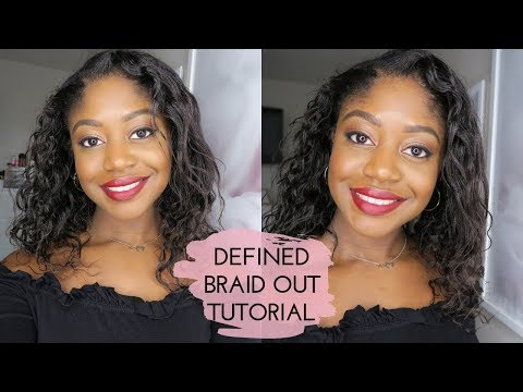 The Perfect Braid Out For Relaxed Texlaxed Hair Lillyandhearts