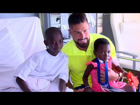 Monaco Humanitarian Collective: Olivier Giroud, an ambassador with plenty of goodwill