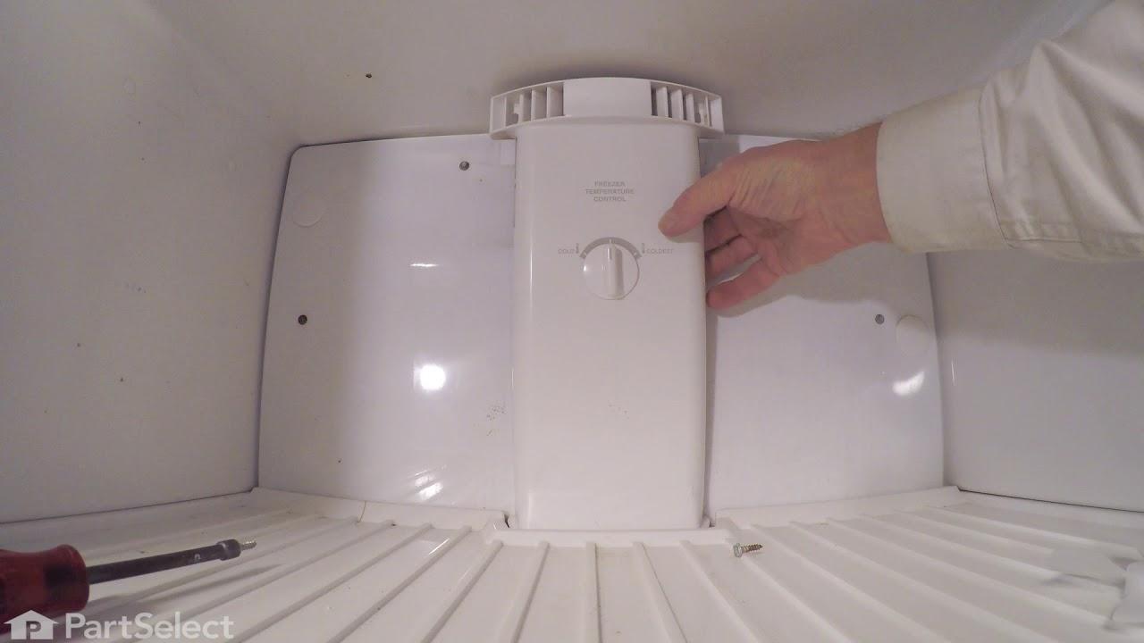 Replacing your Frigidaire Refrigerator Evaporator Fan Blade