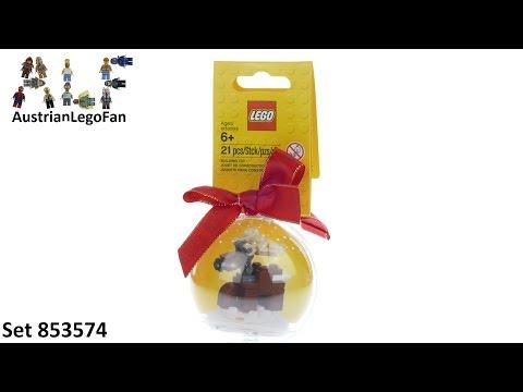 Vidéo LEGO Saisonnier 853574 : Décoration de Noël  « Renne de Noël »