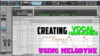 Creating Vocal Harmonies Using Melodyne