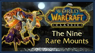 The 9 Rarest Mounts in World of Warcraft: Classic