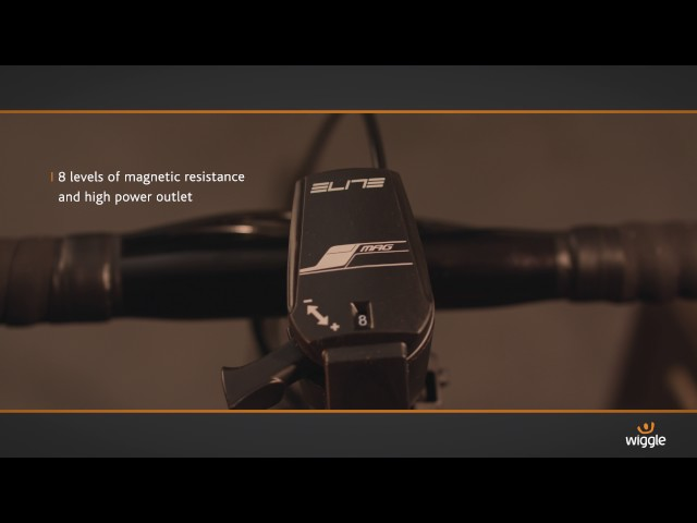 Видео Велотренажер Elite QUBO POWER SMART B+