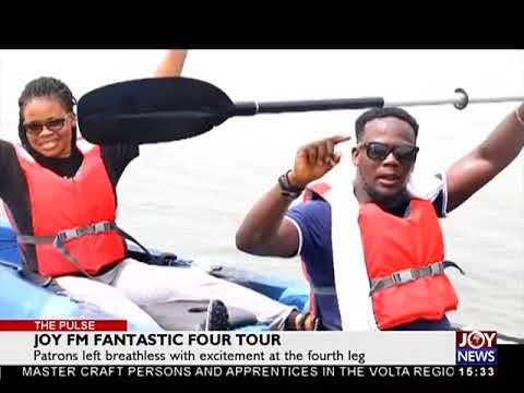 Joy FM Fantastic Four Tour - The Pulse on JoyNews (2-4-18)