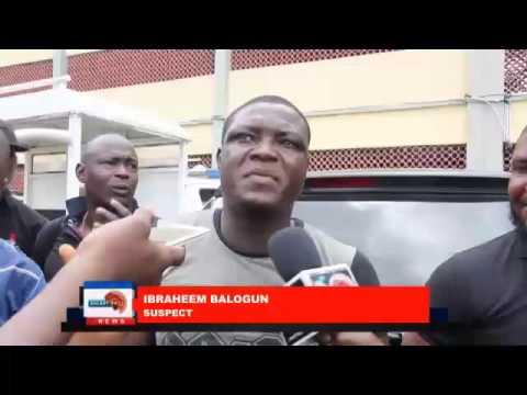 Police parades suspected criminals in Lagos
