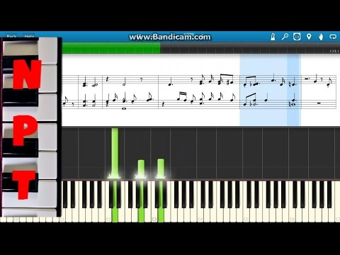 Pink Just Give Me A Reason - Sheet Music Piano Tutorial - Score - On Screen Mp3