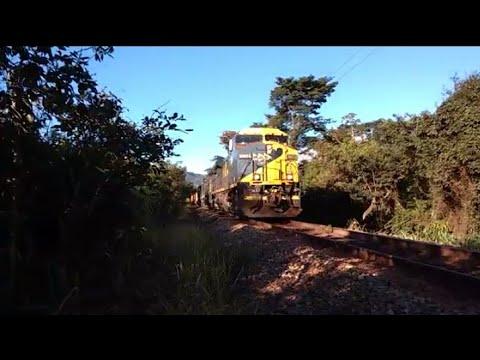 Trem KER chegando em Brumadinho-Mg,25/03/18(C44emi)