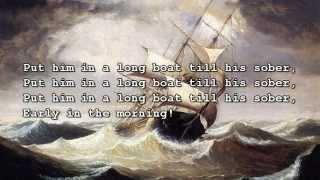 Irish Rovers - Drunken Sailor with lyrics