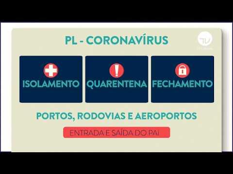 Projeto de lei do Governo propõe medidas de combate ao coronavírus - 04/02/2020