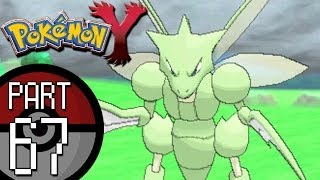 Pokemon X And Y   Part 67: Route 21   Discovering Scyther And The Draco Meteor Move Tutor!