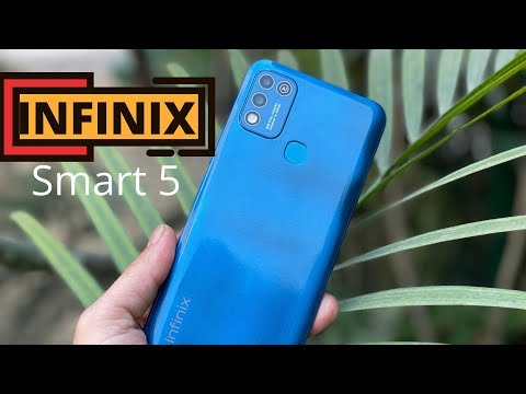 Infinix Smart  5 First impression and Unboxing