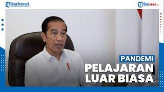 Jokowi Ungkap Pandemi Covid-19 Beri Pelajaran Luar Biasa, Mengajarkan Pentingnya Sinergi Bangsa