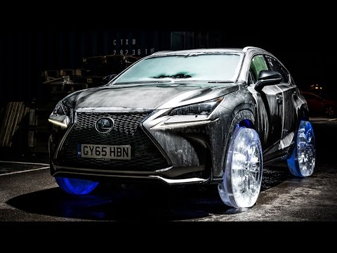 Tyres Made Of Ice Are The Least Practical After-Market Lexus Upgrade