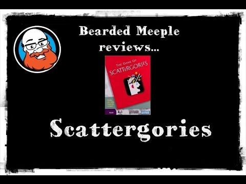 Bearded Meeple reviews Scattergories