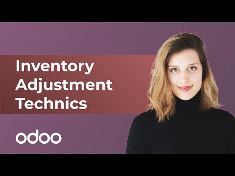 Inventory Adjustment Technics | Odoo Inventory