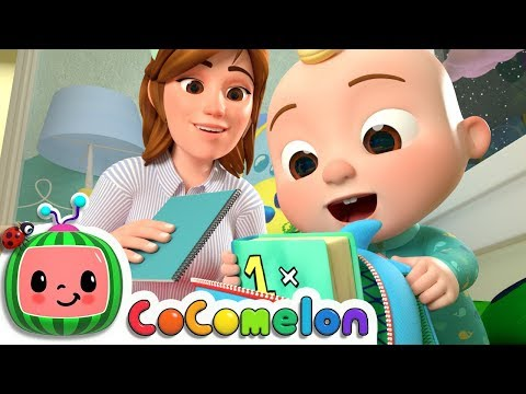 Getting Ready for School Song | CoCoMelon Nursery Rhymes & Kids Songs